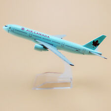 16cm Air Canada Airlines Boeing 777 B777 Aircraft Airplane Model Plane Gift