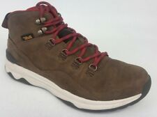 20ae6e4ad40d6 Teva Men s Arrowood Mid Utility Boot - Size 9 - Brown - Waterproof Leather