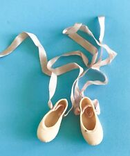Vintage Orig Valentine Doll Shoes Ballet Slippers Toni Little Miss Revlon Ginger