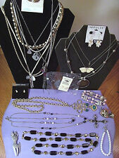 ESTATE JEWELRY LOT 14~Vintage to modern mixed~Lc~aero~butterfly~NOS IMPULSE ER