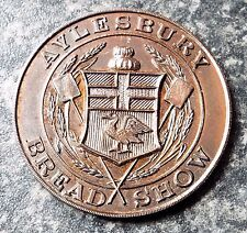 More details for aylesbury bread show - vintage 1933 bakers bronze medal
