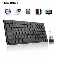 2.4Ghz Mini Wireless Keyboard for Windows Android Smart TV UK Keyboard Layout