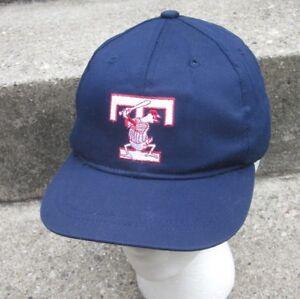 TOLEDO MUD HENS youth baseball hat Muddy old logo mascot cap XS beat-up
