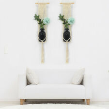 Boho Net Pocket Wall Hanging Tapestry Hanging Basket Hanging Tapestry Home Decor
