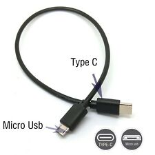 Type C (usb-c) to Micro USB Male Sync OTG Charge Cable Cord Adapter
