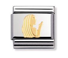 Nomination Classic Charm Zodiac Virgo 03010406 18k Gold