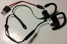 Beats by Dr Dre Powerbeats3 Black Wireless Wire Cord Cover Ripped Work Great