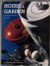 1935  House & Garden August -Cocker Spaniels;Normandie;Air Conditioning;Red Bank