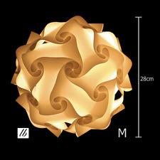 DIY Lampe Größe M (25cm)  - Puzzle Lamp, Lampada Romantica, Jigsaw Lampe