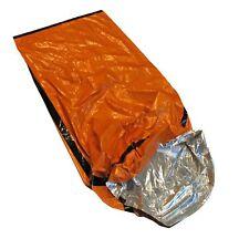 "Sleeping Bag Emergency Aluminium Camping Outdoor Survival  84""x 36"" Mylar Duty"