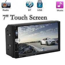 2-Din7''HD Pantalla Táctil Bluetooth Estéreo Radio De Coche Unidad Principal MP5/MP3/USB/AUX/FM