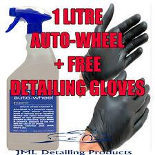 BILT HAMBER AUTO-WHEEL 1 LITRE ALLOY WHEEL CLEANER IRON REMOVER NON ACIDIC +GIFT