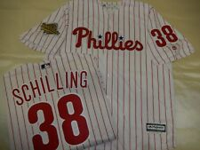 0207 Philadelphia Phillies CURT SCHILLING 1993 World Series Sewn Baseball Jersey