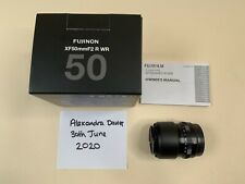 Fujifilm XF 50mm f2 R  WR Lens - Used, excellent condition.