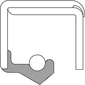 Axle Shaft Seal fits 2007 GMC Sierra 1500 HD Classic  PRECISION AUTOMOTIVE INDUS