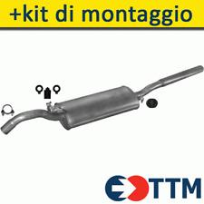 SEAT TOLEDO LIFTBACK 1.6 1.9 D 1991-1996 Silenziatore Marmitta Posteriore+