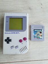 Original Nintendo Gameboy Game Boy Konsole DMG-01 Top Zustand + Megalit Wie Neu