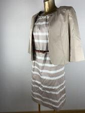 COMMA Kleid + Blazer Kostüm 44 festlich NP 270€