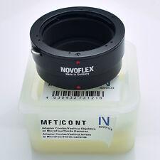 Novoflex MFT-CONT Contax/Yashica C/Y Lens Mount to Micro 4/3 Adapter (#3466)