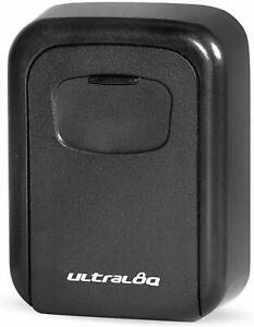 ULTRALOQ Safe Padlock Key Lock Box Outdoor Storage Case with 4-Digit Combination