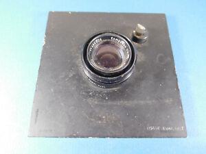 """Schneider - Kreuznach Componon 80mm f4 Large Format Lens on 4"""" Lens Board"""