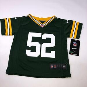 Green Bay Packers Clay Matthews NFL Nike Toddler Jersey Size 3T