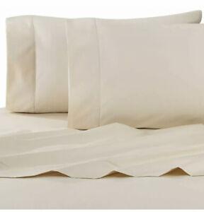 Wamsutta Dream Zone 750 Thread Count PimaCott King Sheet Set Ivory New