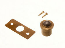 24 of Roller Ball Solid Brass Catch With Screws And Keeper Body 13Mm