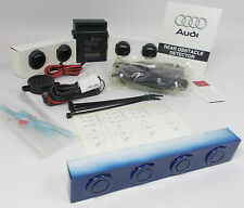 Genuine AUDI A4 B8 ARUBA Azul LX5V Pintado Trasero Kit De Sensor De Reversa de estacionamiento de ayuda