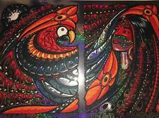 Widespread Panic Jeff Wood Poster Punta Cana Playa Tres 14 Sparkle Foil VARIANT