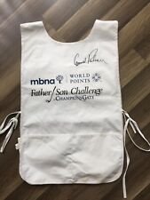 Arnold Palmer Signed Golf Caddy Vest Used By Fuzzy Zoeller Champions Gate PGA