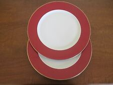 AMC N.Y., N.Y. - Japan, Red/White/Gold Service Plate / Charger(s), Set of Two