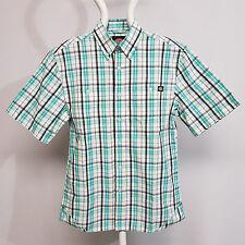 Dickies Bradbury Sommer kariertes Hemd s blau / weiß