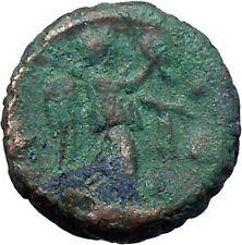 DIOCLETIAN 287AD Alexandria Egypt Potin Tetaradrachm NIKE Roman Coin i48690