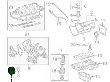 For Toyota Genuine Engine Harmonic Balancer Bolt 9008011419