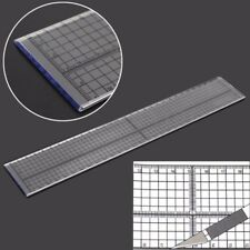 Quilting Sewing Patchwork Foot Aligned Ruler Grid Cutting Edge Tailor Crafts