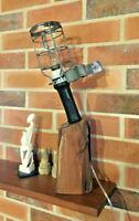 """Lampe baladeuse """"Atrow""""- Lampe de bureau upcyclée- lampe industrielle- steampunk"""