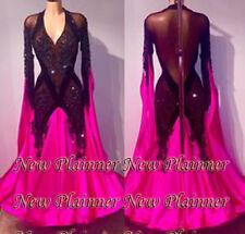 B7096 women Waltz Tango Slow Foxtrot/Quickstep dance dress US 4 sleeve
