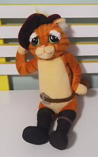 SHREK THE THIRD PUSS IN BOOTS DREAMWORKS ORIGINAL SOFT TOY PLUSH TOY 32CM TALL!