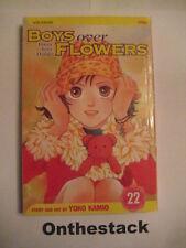 MANGA:    Boys over Flowers (Hana Yori Dango) Vol. 22 by Yoko Kamio (2007)