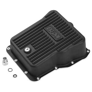 B&M 71390 Deep Transmission Pan Black Aluminum for Sierra/Silverado 2500/3500 SC