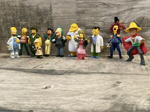 The Simpsons Vintage Figurines X 11 - Homer, Barney, Smithers, Lisa, And More