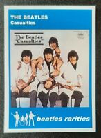 Rare CASUALTIES unauthorized LP - BEATLES RARITIES trade card - butcher cover