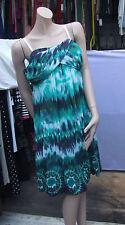 JOSEPH RIBKOFF 18 neuf avec étiquette Magnifique pur Vert Batique Style
