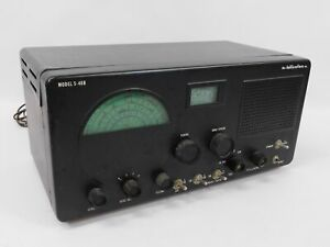 Hallicrafters S-40B Vintage Ham Radio Communications Receiver (untested)
