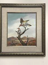 BERNARD MARTIN (Missouri 1912-1998) Listed Artist  Original Artwork Oil on Panel