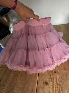 Sensational ANGEL'S FACE Pink Tulle Net TuTu SKIRT, So Special!! 6-7 Years