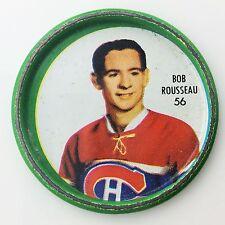 Shirriff Bob Rousseau #56 Montreal Canadiens NHL Hockey Metal Coin A510