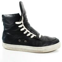 Krisvanassche - Black Lace Up Hightops sneakers - 42 - US 9 - Kris Van Assche