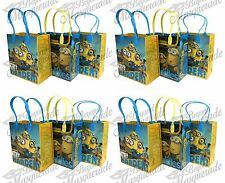 Universal Minions Party Favor Supplies Goody Loot Gift Bags [12ct]